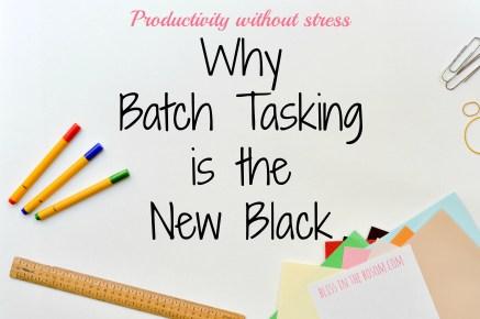 Batch tasking