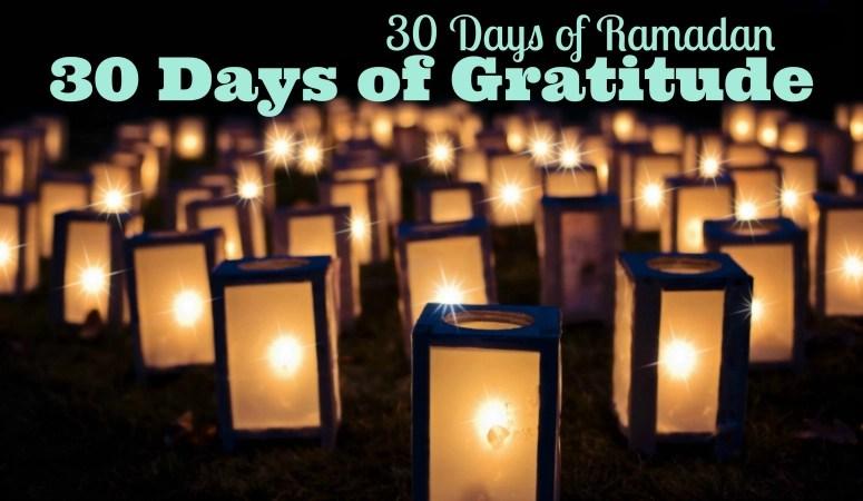 Ramadan Gratitude Challenge