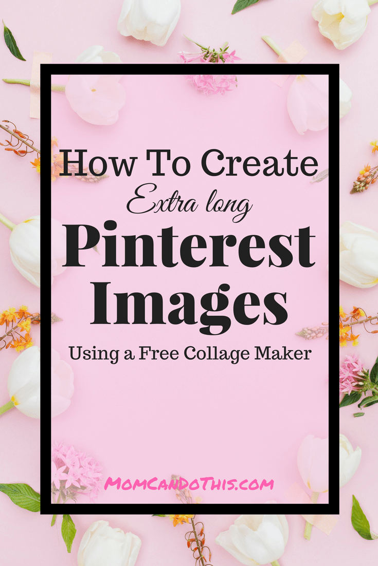 Learn how to easily create multiple Pinterest images in extra long collage style using a free software. Rock your recipe and round-ups posts and put out stunning Pinterest images with little effort.