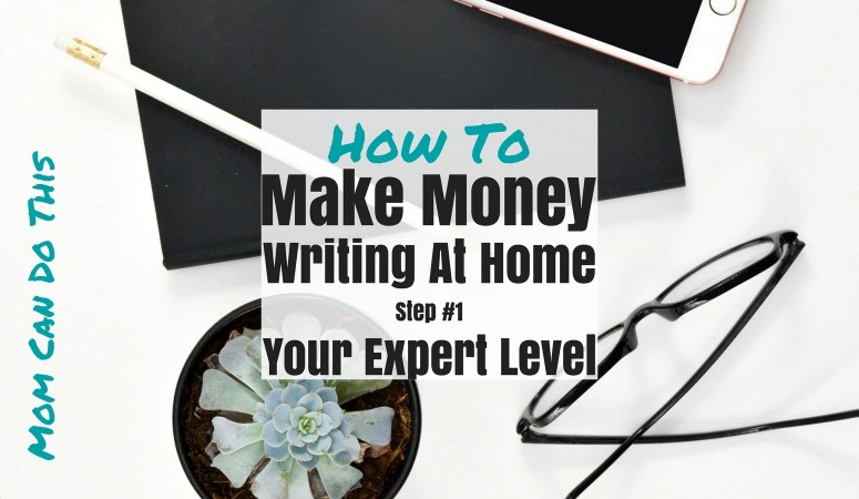 glasses on desk. how to make money writing at home.