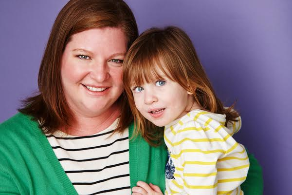 Motherhood in Hollywood Heather Brooker and daughter
