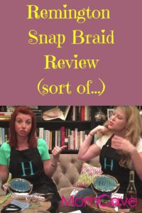 Remington Snap  Braid Review Hobbs and Hayworth MomCaveTV.com