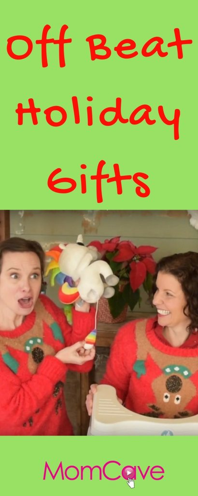 Off Beat Holiday Gifts from MomCave
