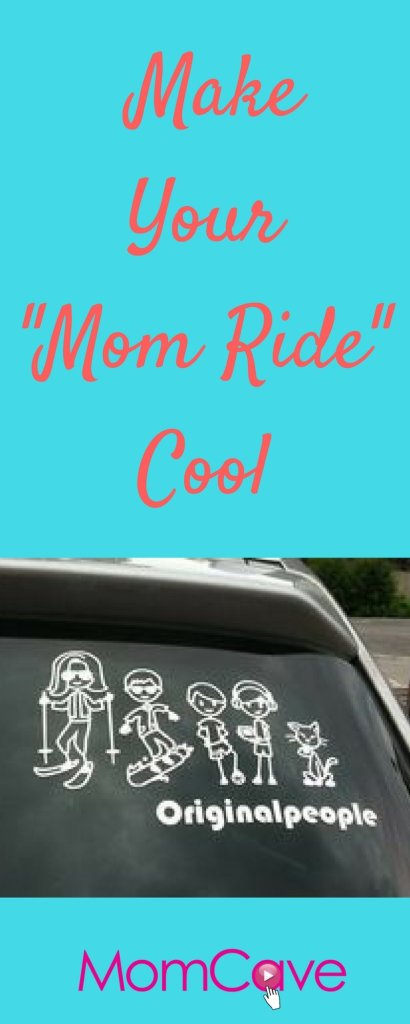 Make Your Mom Ride Cool and Original People Giveaway from MomCaveTV.com