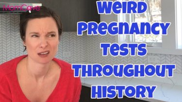 weird pregnancy tests momcave
