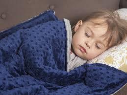 do weighted blankets help kids sleep?
