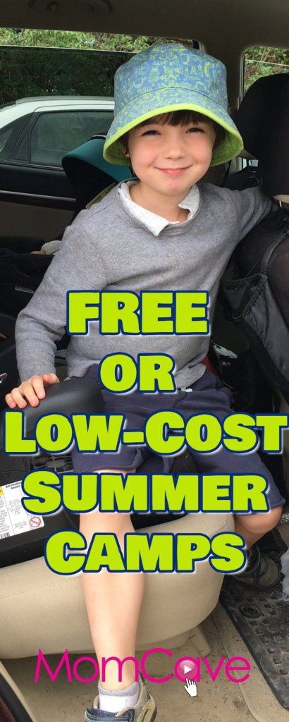 Free Summer Camps or Low Cost Summer Camps Guide MomCave