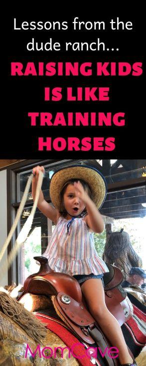 training horses is like raising kids momcave