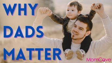 Dad with happy toddler boy on his shoulders Why Dads Matter Why Fathers Matter MomCaveTV