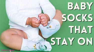 baby socks that stay on photo of baby pulling off socks momcavetv