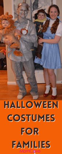Family Halloween Costume of the Wizard of Oz Characters Halloween Costumes for Families MomCaveTV