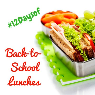 Back to School Lunches #12Daysof