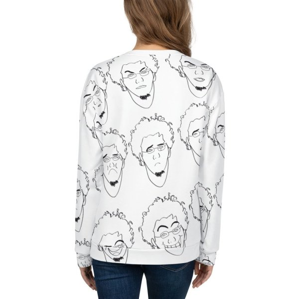 Some of Facial Expressions – Unisex Sweatshirt-3