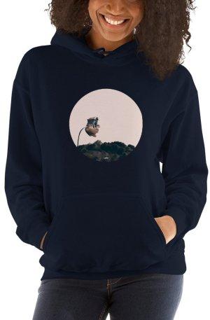 Adoration Road - Hooded Sweatshirt - Navy