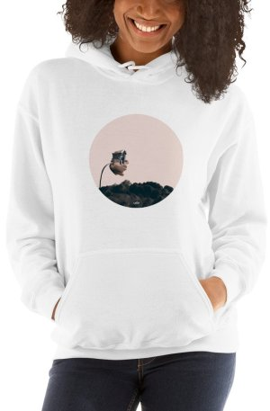 Adoration Road - Hooded Sweatshirt - White