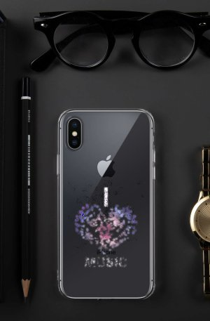 I love Music -iPhone Case-02