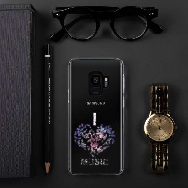 I love Music -Samsung Case-10