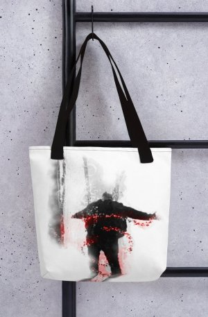 An inspiration moment -Tote bag-black