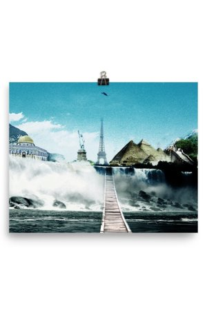 I want to go where I want -Photo paper poster-01