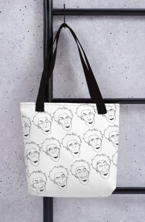 Some of Facial Expressions - Tote bag - Black