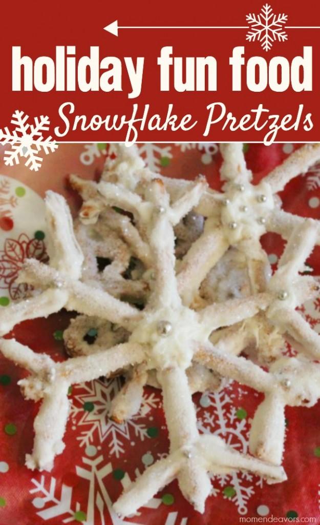 Snowflake Pretzels