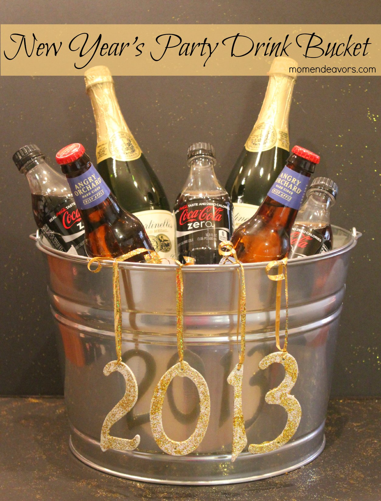 New Year s Party Drink Bucket     New Year s party drink bucket   When