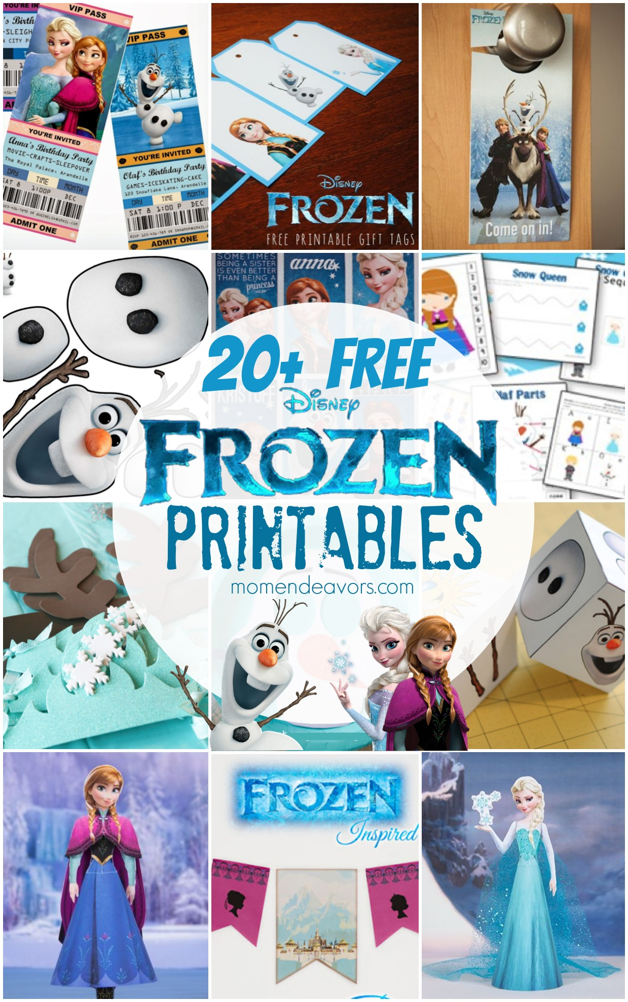 Disney Frozen Printable Activities Amp Coloring Pages