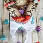 Mother S Day Gift Idea Diy Chocolate Bouquet Mom Endeavors