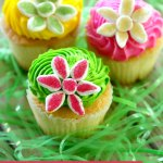 Easy Marshmallow Flower Cupcakes Mom Endeavors