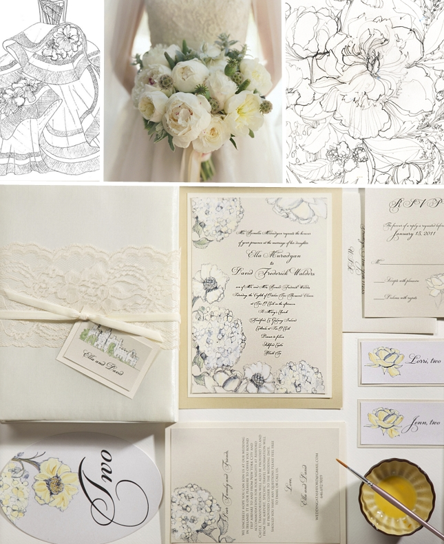 Creative Of Gold Wedding Invitations Plumegiant