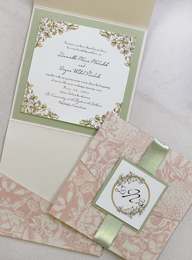 Pink And Green Invites3