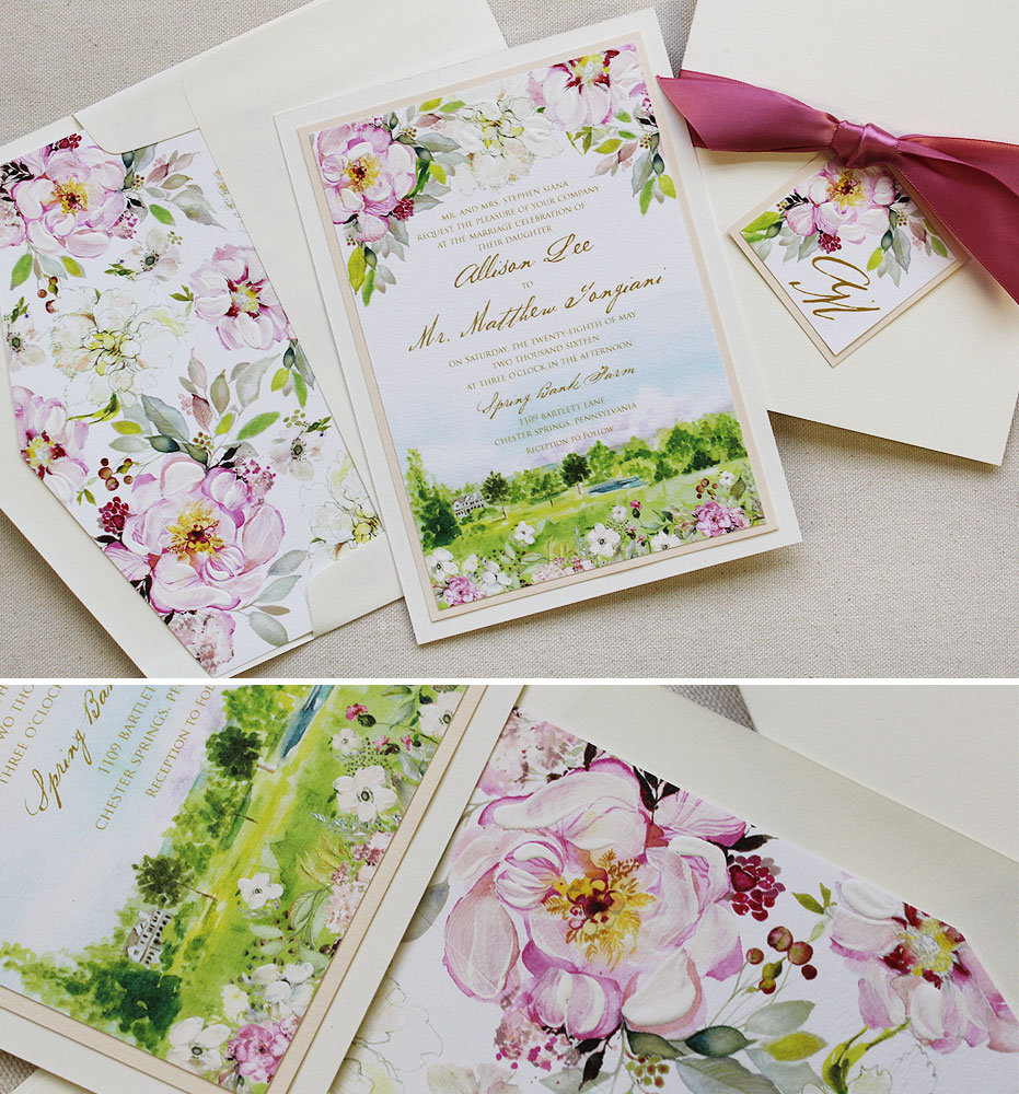 Rustic Wedding Invitations Handmade