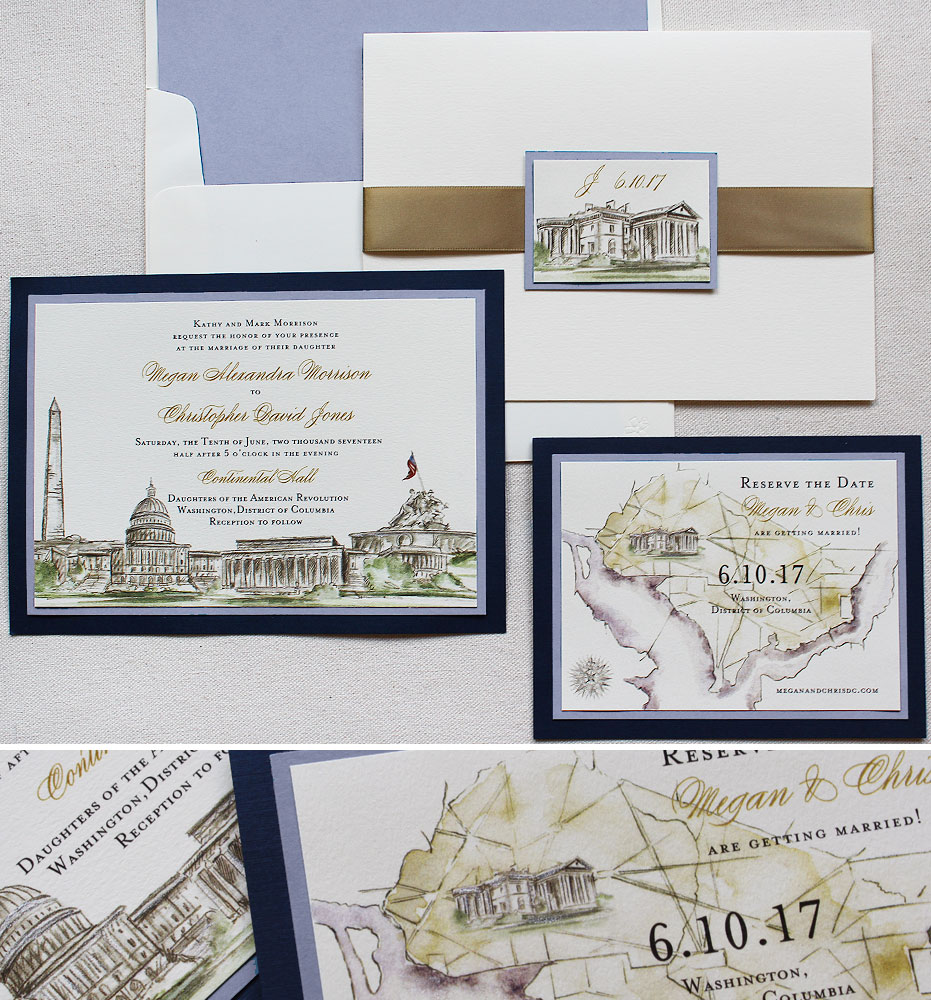 Custom Invitations Washington Dc