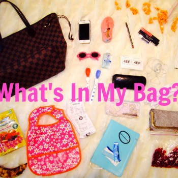 What's In My Bag: The Real Mom Edition!