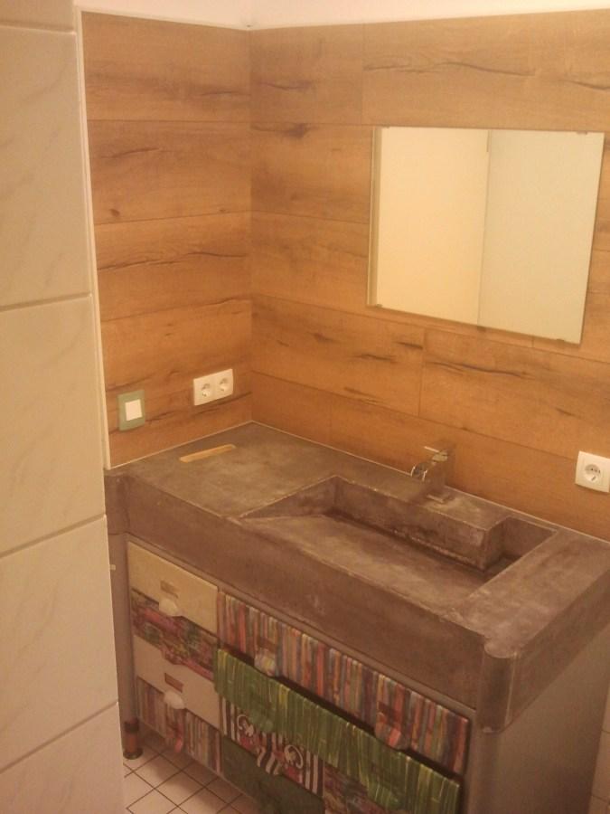 Beton-Waschbecken selbst gemacht