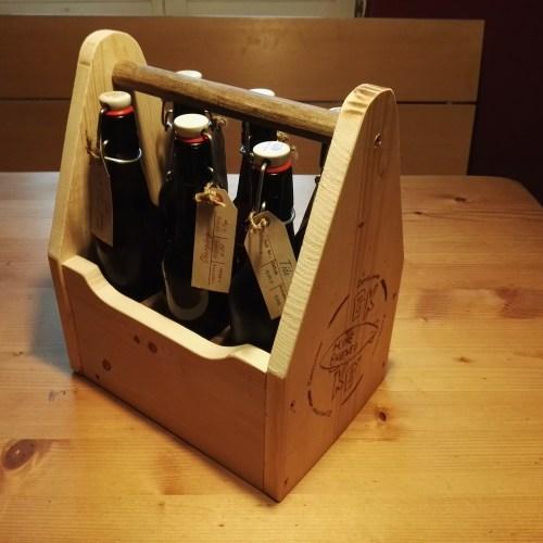 Bierkiste für unser selber Gebrautes