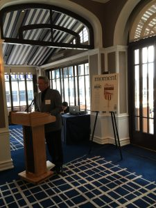 Moment board member Bob Wiener talks about the Eugene M. Grant Fellowship for young journalists