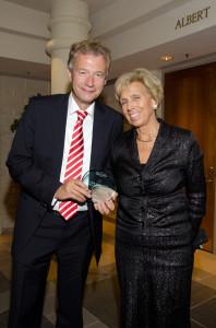 German ambassador Peter Ammon and his wife, Marliese Heimann-Ammon