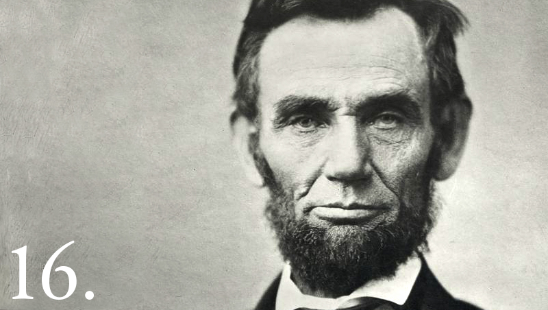 Abraham Lincoln Headshot