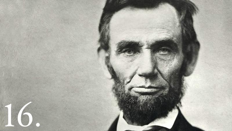 Abraham Lincoln Headshot