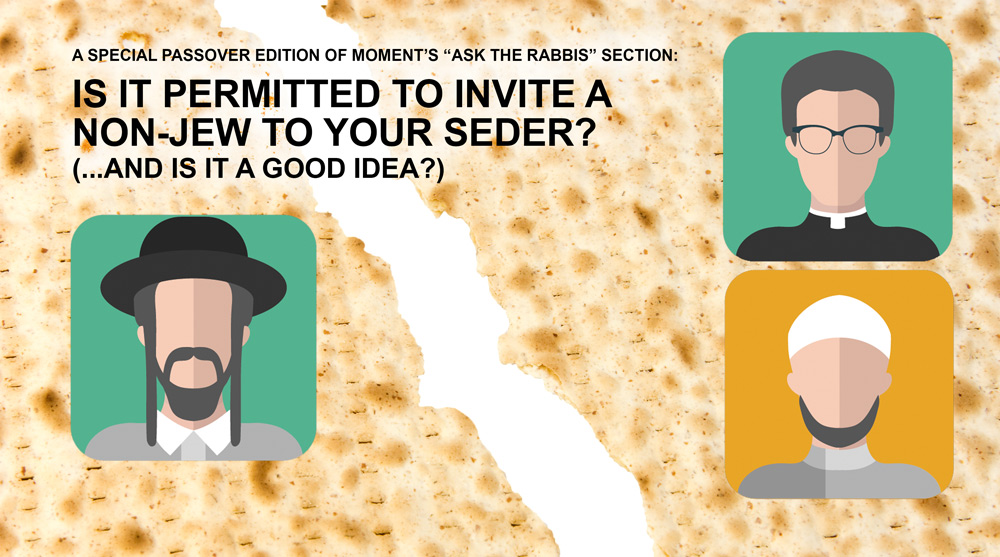 Invite a non-jew to your seder