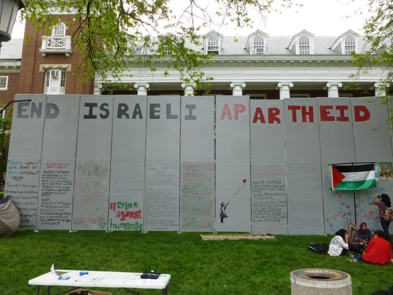 Students for Justice Wall
