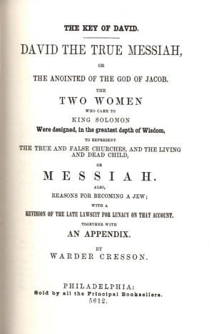 Warder Cresson book