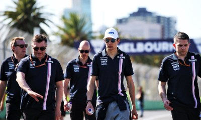 Esteban Ocon en Melbourne-Force India