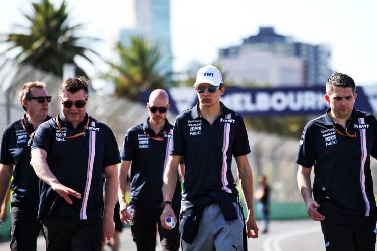 Esteban Ocon en Melbourne-Force India
