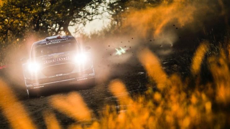 Ogier en el Rally Argentina 2017