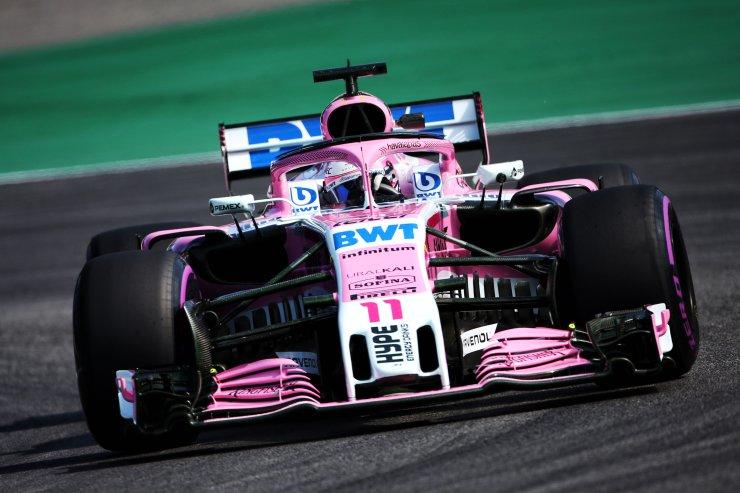 Force India en los entrenamientos