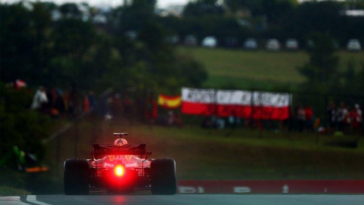 Ricciardo en la clasificación del Gran Premio de Hungría 2018