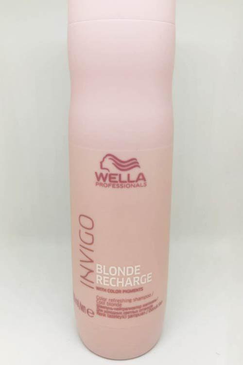 Wella Invigo Blonde Recharge Shampoo
