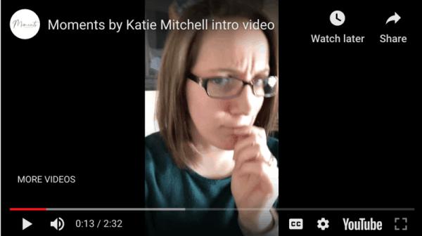 My new intro video